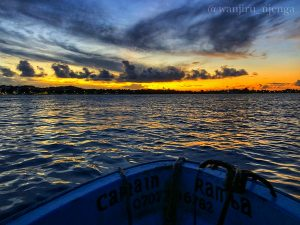 sunset dhow experience in lamu